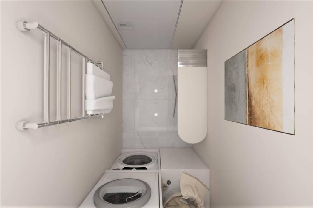 ห้องน้ำ โดย 'INTSTYLE', สแกนดิเนเวียน แกรนิต