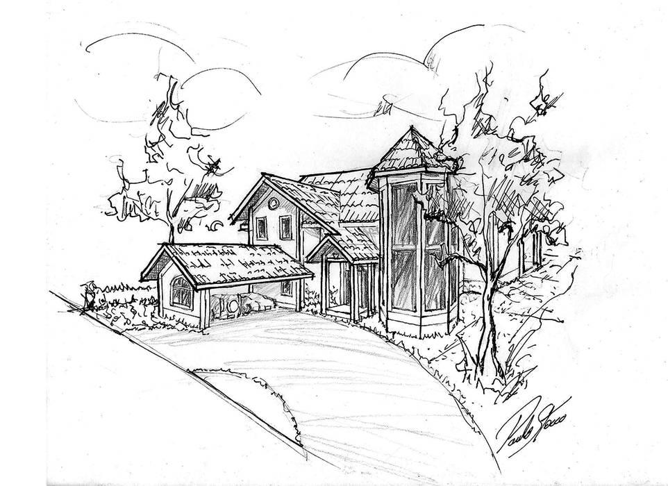 Casas unifamiliares de estilo  por Paulo Stocco Arquiteto, Clásico