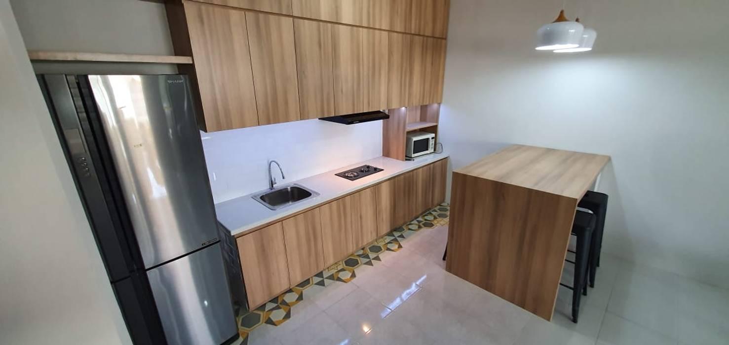 Rumah AB Dapur Gaya Skandinavia Oleh Asaterra Studio Skandinavia
