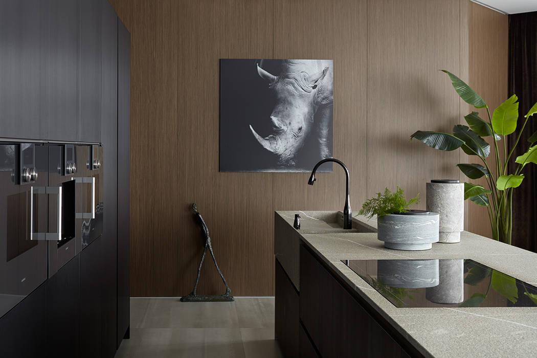 Muebles de cocinas de estilo  por iPozdnyakov studio, Minimalista