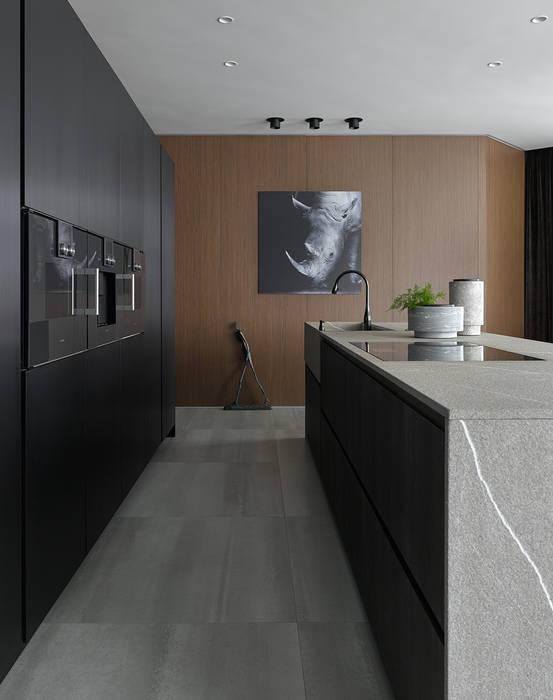 Stealth flat: Кухонные блоки в . Автор – iPozdnyakov studio, Минимализм