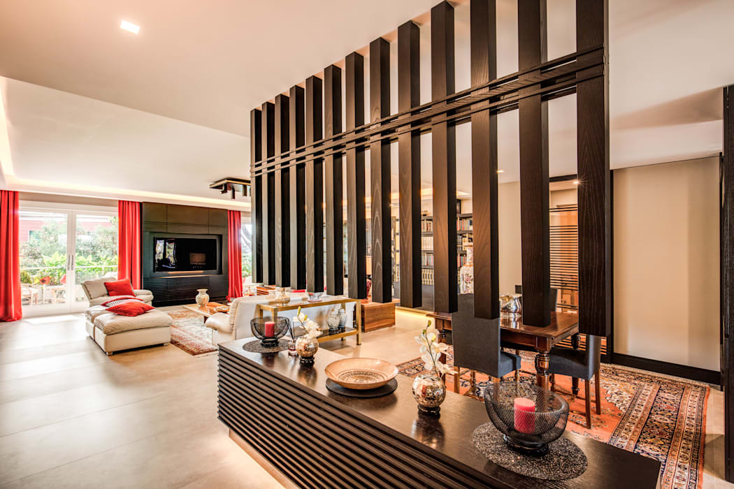 MOB ARCHITECTS Living room