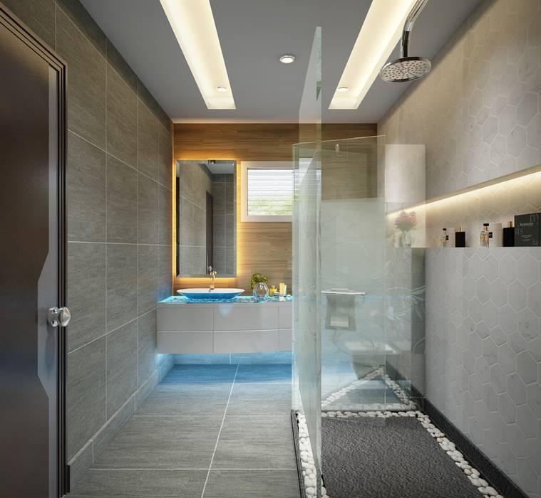 Washroom Modern bathroom by Square Arc Interior Modern