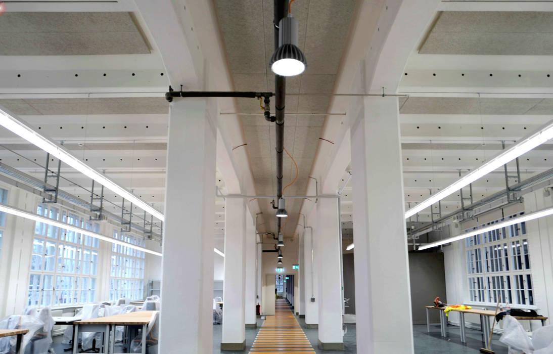 Goerzwerk - Werkstatt und Kantine für Menschen mit Behinderungen:  Bürogebäude von Sandra Klösges,Modern