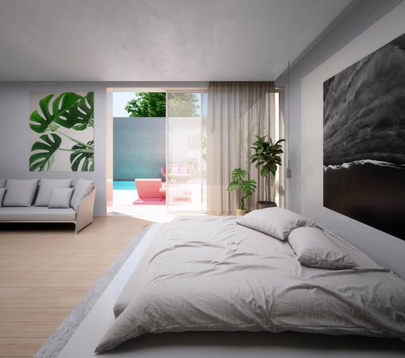 Kamar Tidur oleh S-AART, Minimalis