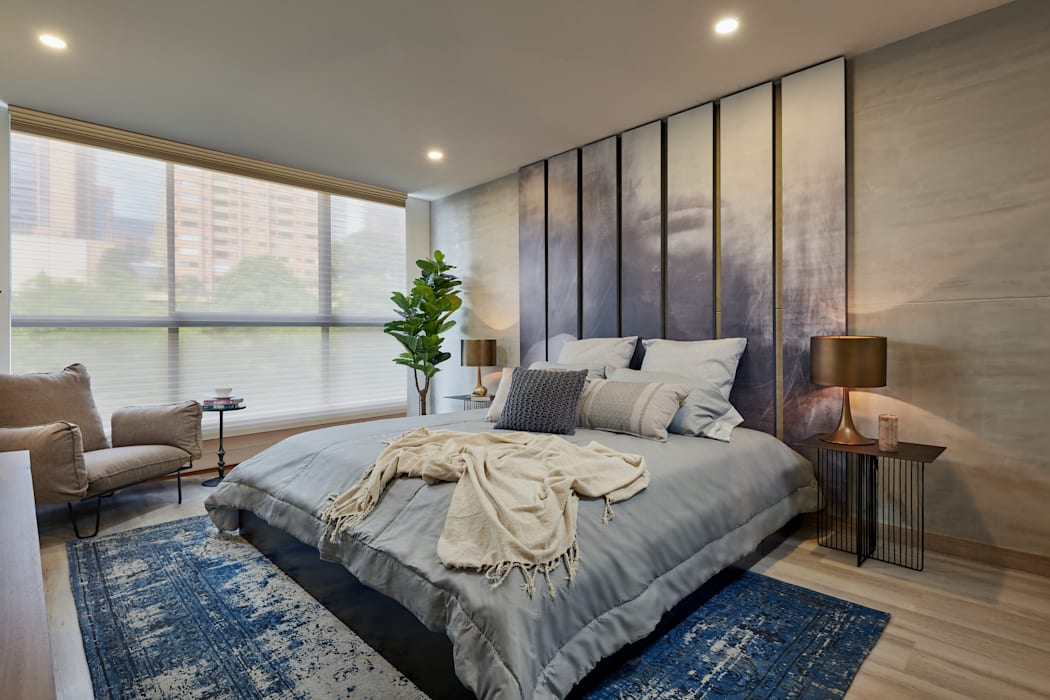 Eclectic style bedroom by CAJA BLANCA Eclectic