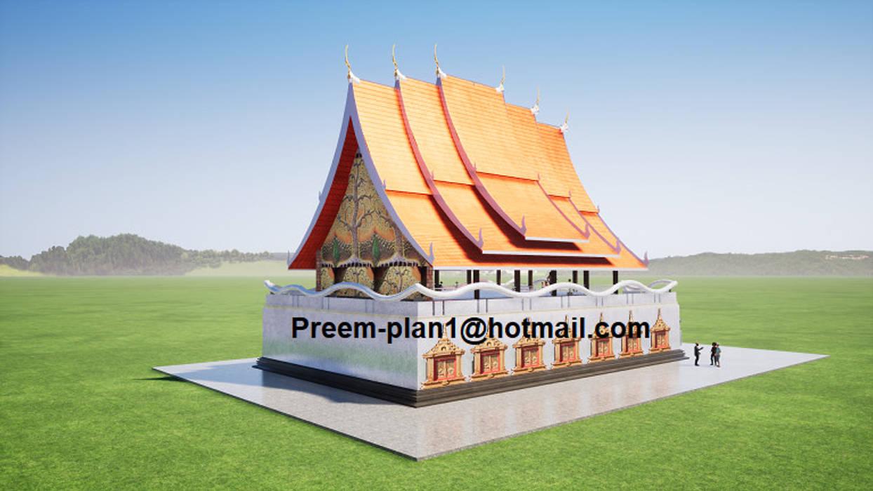 ออกแบบวัด โดย รับเขียนแบบบ้าน&ออกแบบบ้าน คันทรี่ แกรนิต