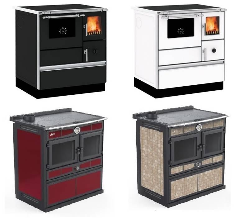Cucina a legna o combinata legna/pellet di termo dibi ...