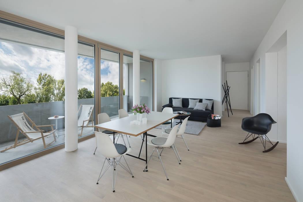 Ess- und wohnzimmer moderne esszimmer von be_planen ...