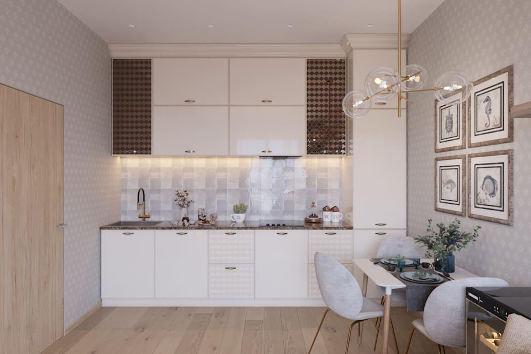 Kitchen by 'INTSTYLE', Classic Wood Wood effect