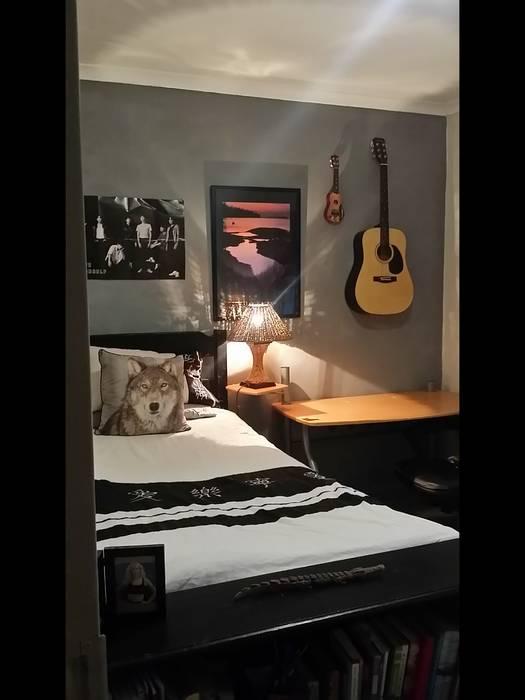 After BTS Teen bedroom:  Bedroom by Shan Chi Feng Shui & Design, Asian