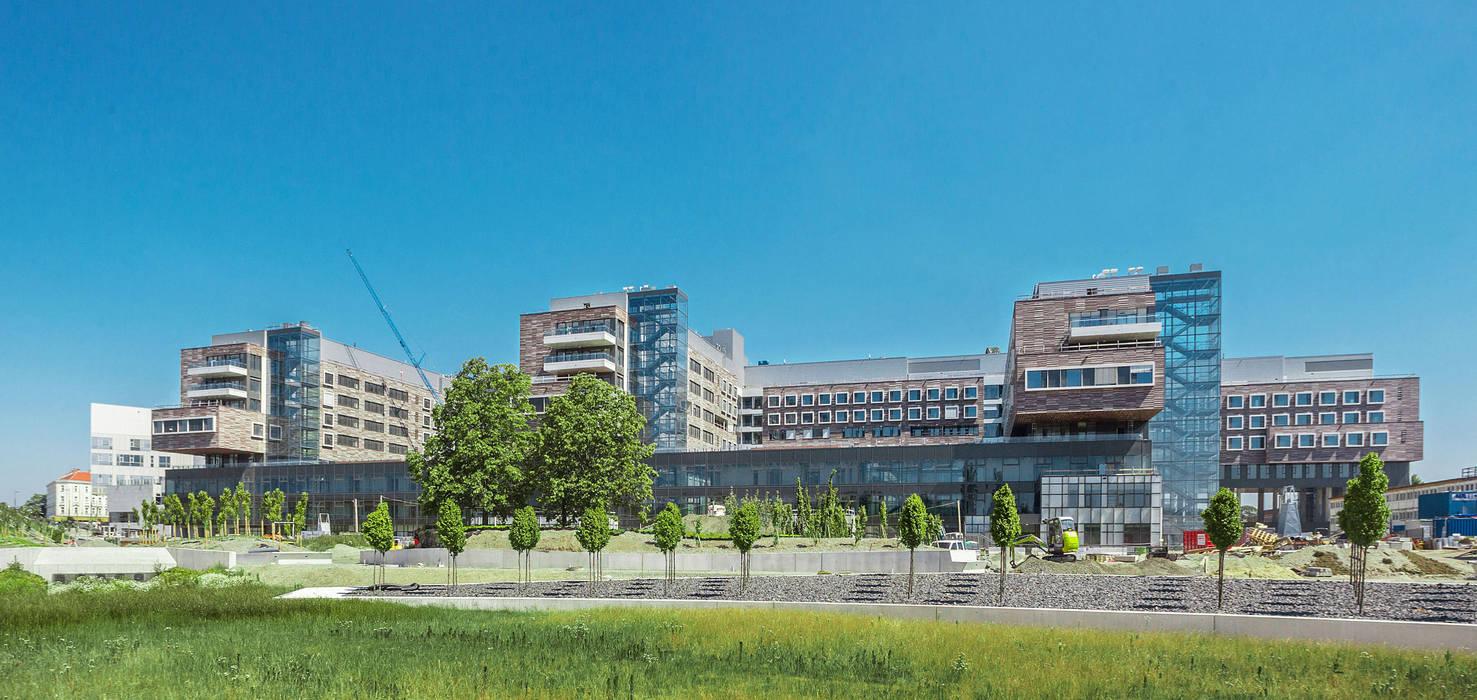 Klinik Floridsdorf Moderne Krankenhäuser von Albert Wimmer ZT GmbH Modern