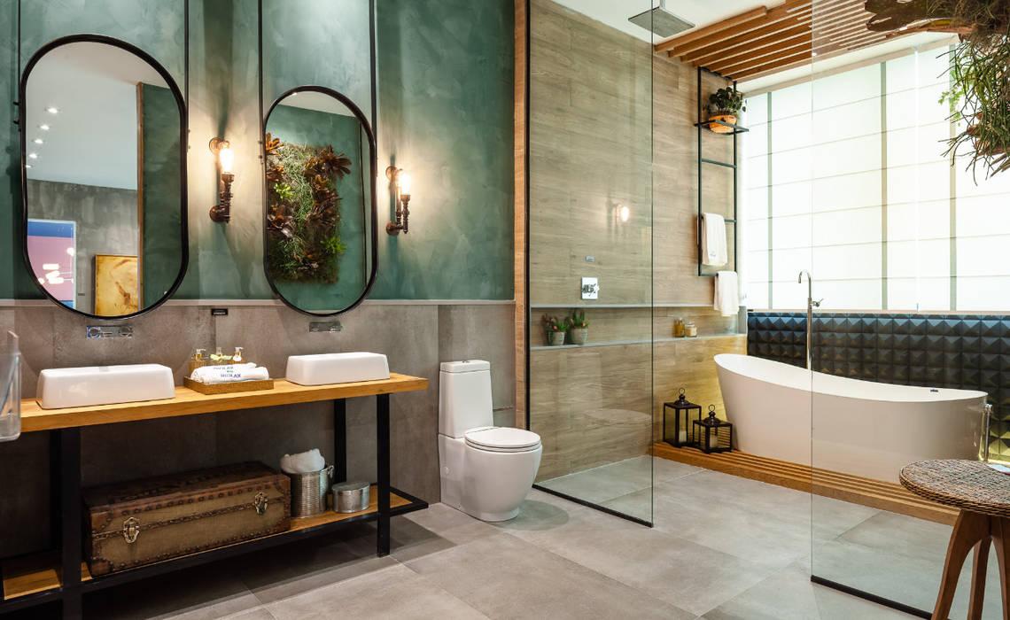 Salle De Bain Industrielle salle de bain industrielle par elaine generoso industriel
