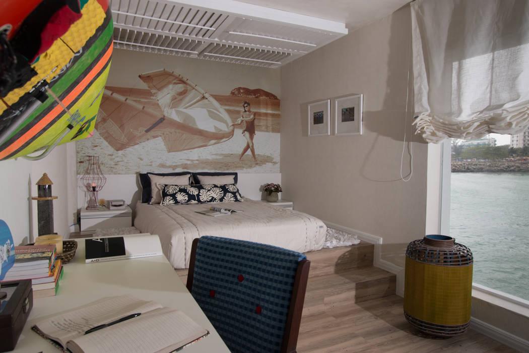 Dormitorios de estilo mediterráneo de KELLY ALMEIDA Mediterráneo
