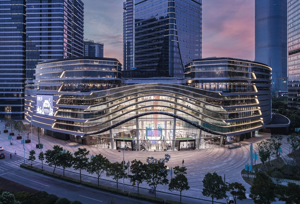 Hong Leong City Center in Suzhou by Aedas Classic style study/office by Architecture by Aedas Classic Metal