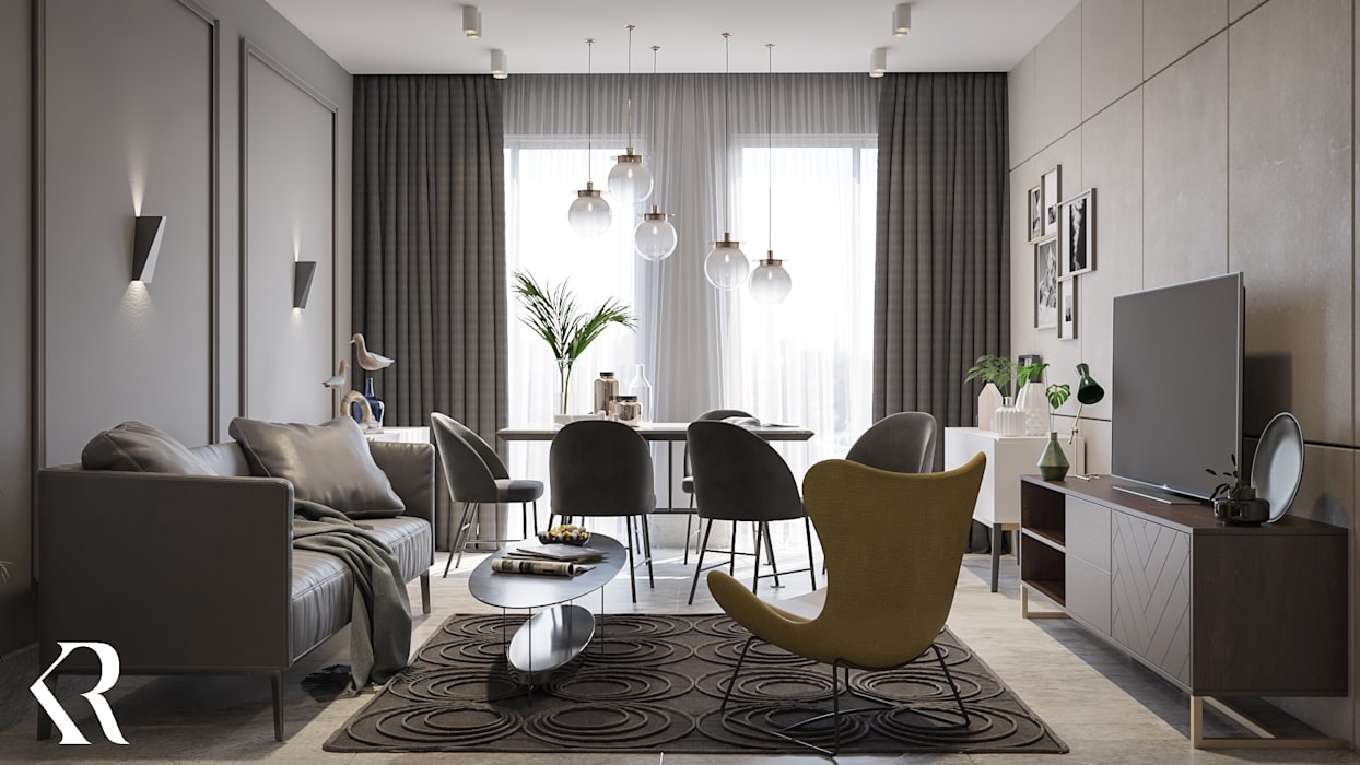 modern  by KRDS - Khaled Rezk Design Studio, Modern