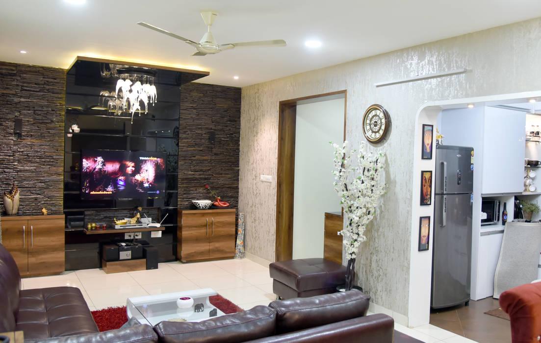 Modern Living Room by AARAYISHH (Mumbai & Pune) Modern