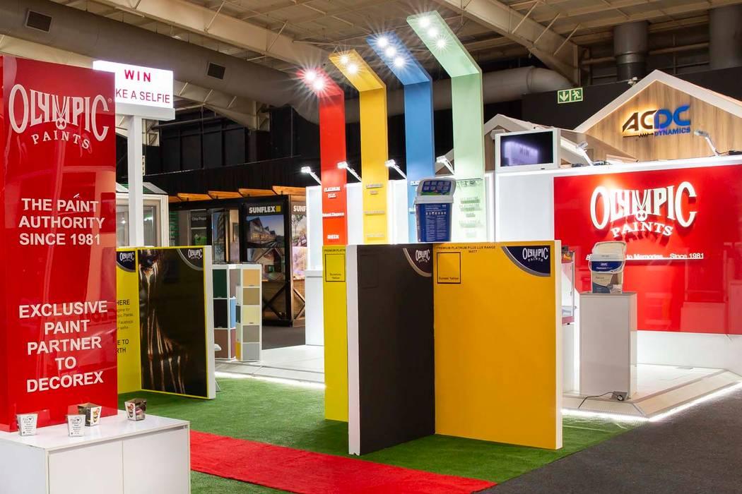 Moderne exhibitieruimten van Sian Kitchener homify Modern