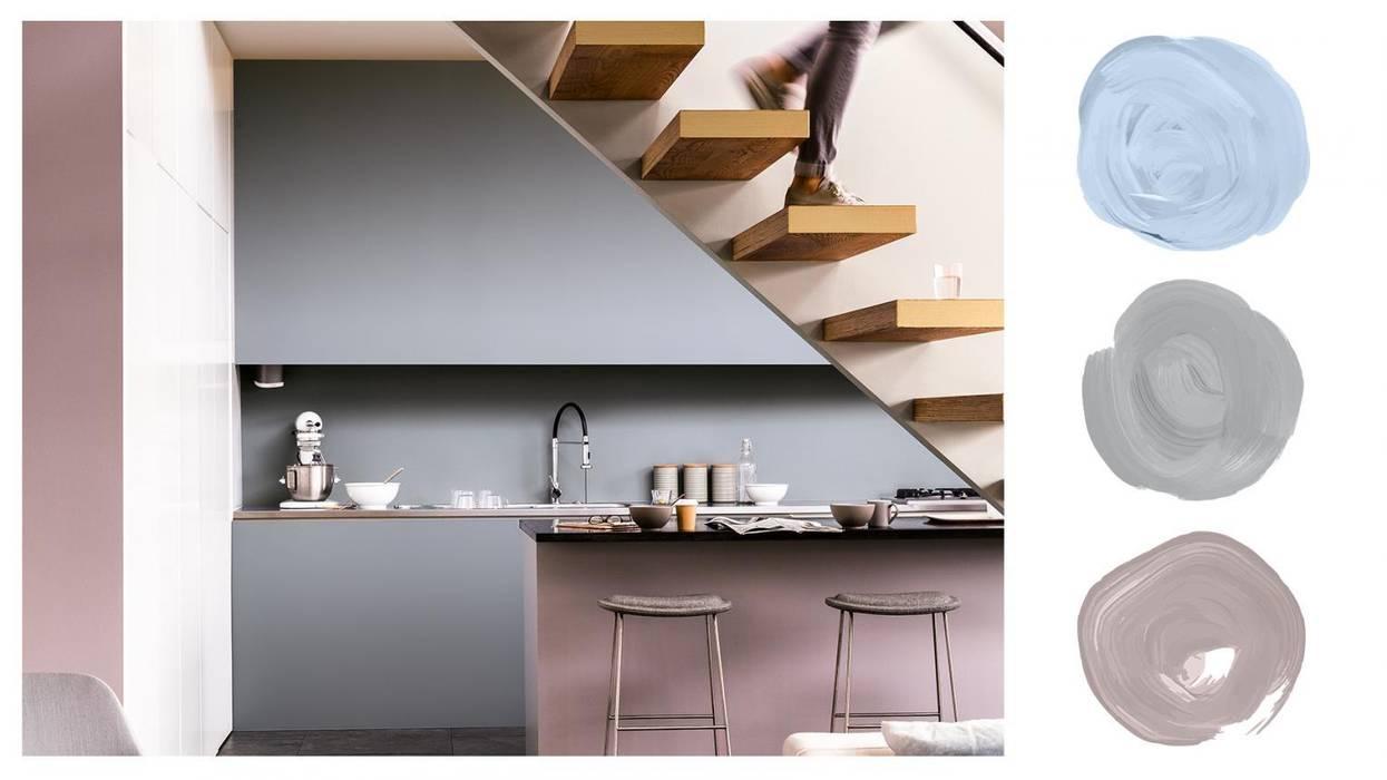 Modern Grey Kitchen Modern kitchen by Dulux UK Modern