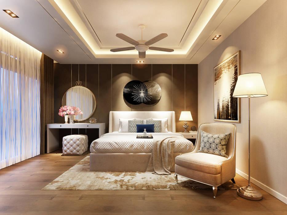 RIKATA DESIGN Camera da letto moderna