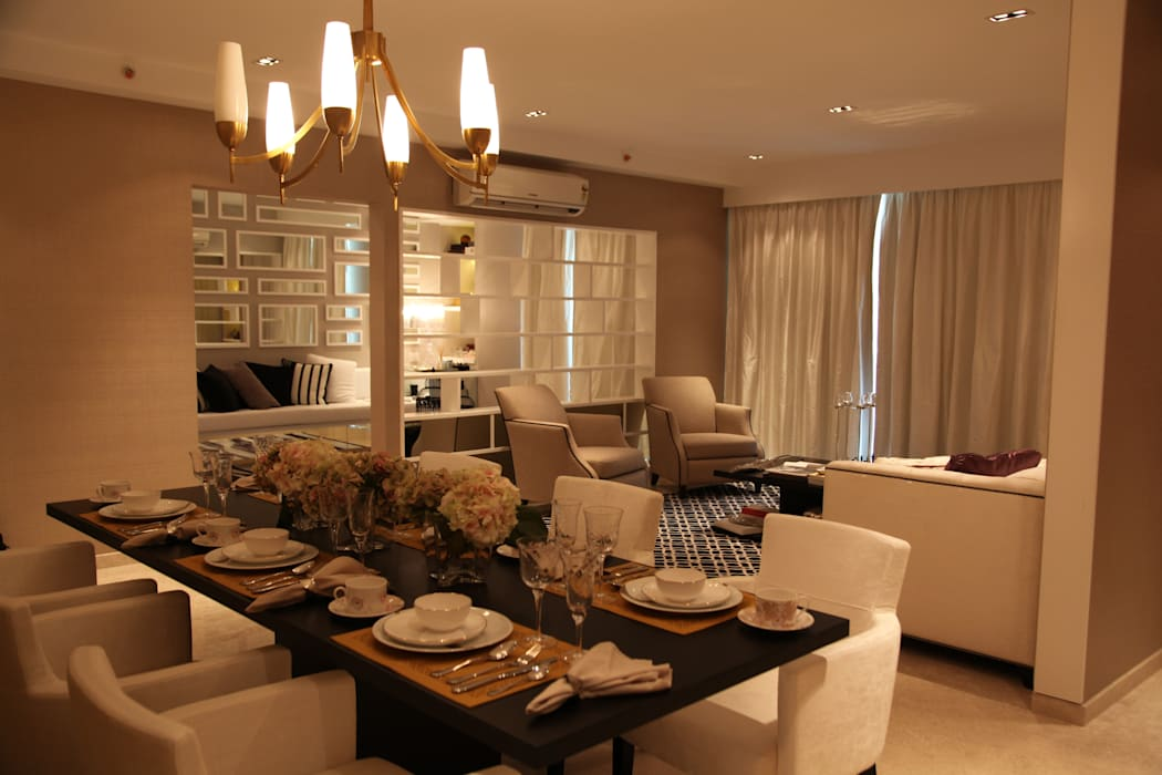 Classical Clean Home Classic style dining room by Tanish Dzignz Classic