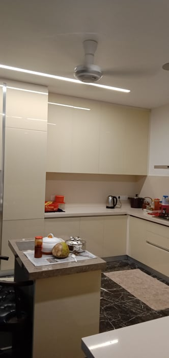 Modular Kitchen experts in Chennai by Hoop Pine Interior Concepts Modern Plywood
