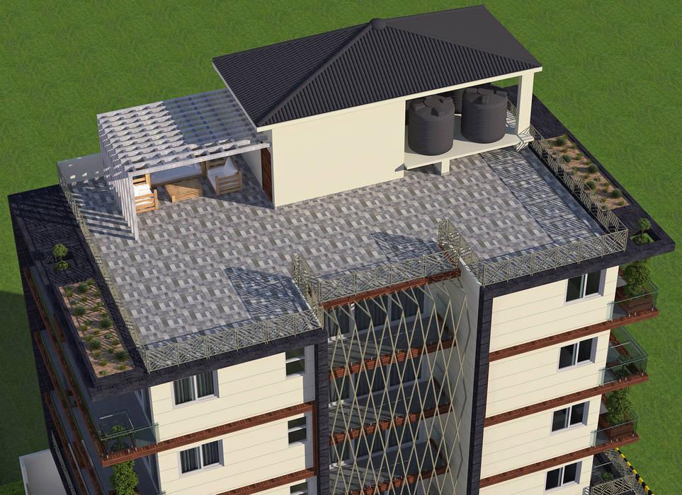 Bungalow Modern houses by Tanish Dzignz Modern