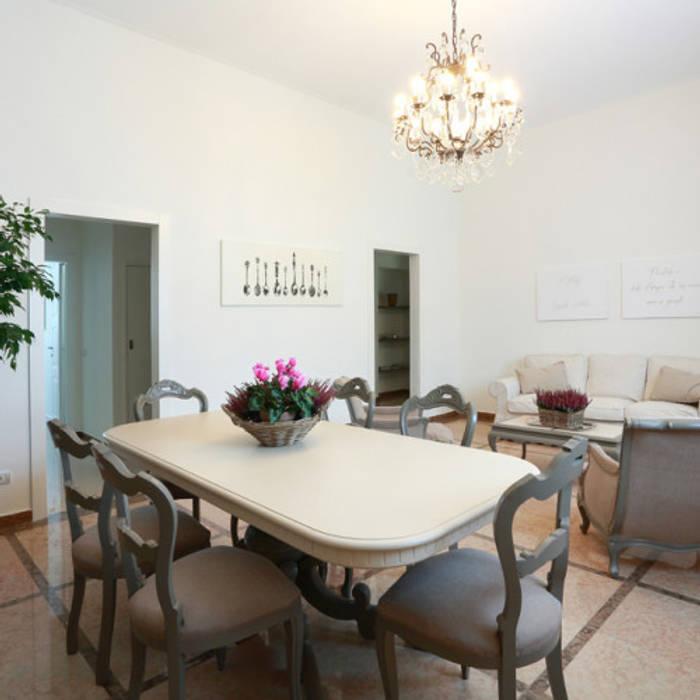 Sala da pranzo e soggiorno arch. farioli mafalda roberta ...