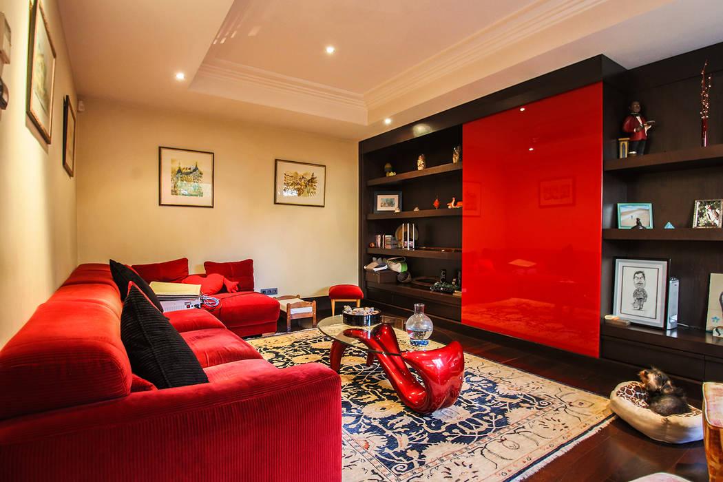 Bernadó Luxury Houses Modern Living Room
