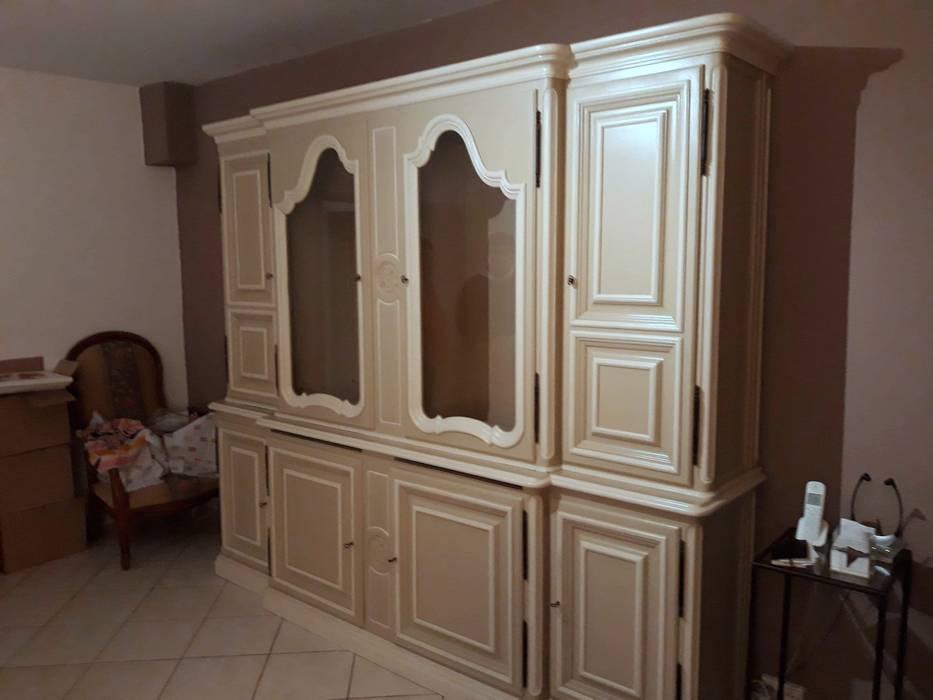 Mobile soggiorno libreria in stile provenzale: studio in ...