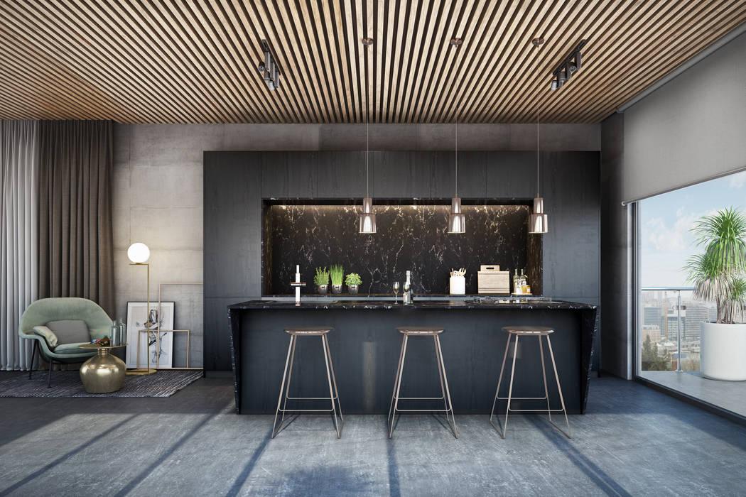 Bold & Beautiful - Signature Kitchen:  Kitchen units by Signature Kitchen, Modern Marble