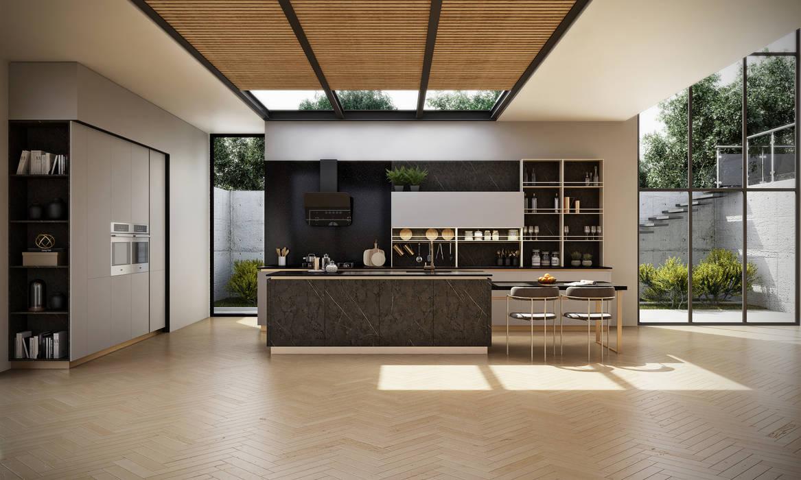 Modern contemporary—signature kitchen