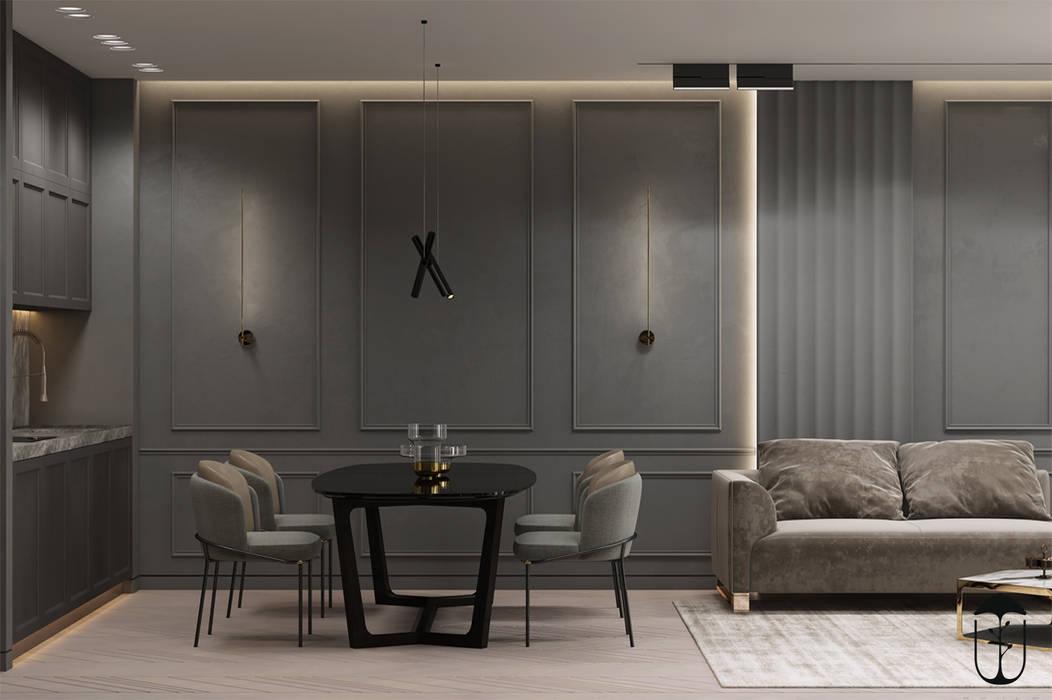 Salon original par U-Style design studio Éclectique
