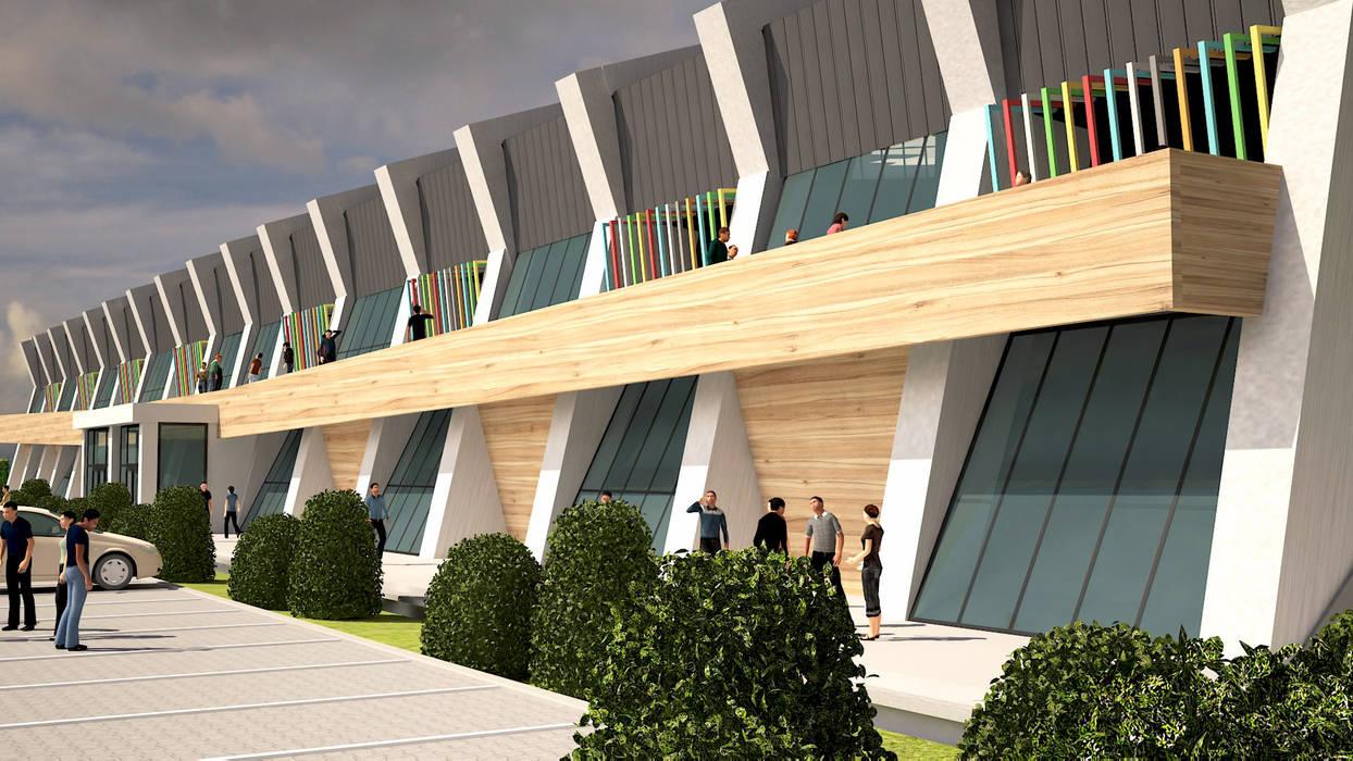 YOZGAT ÜNİVERSİTESİ SPOR KOMPLEKSİ Modern Stadyumlar ARCONPROJE Modern
