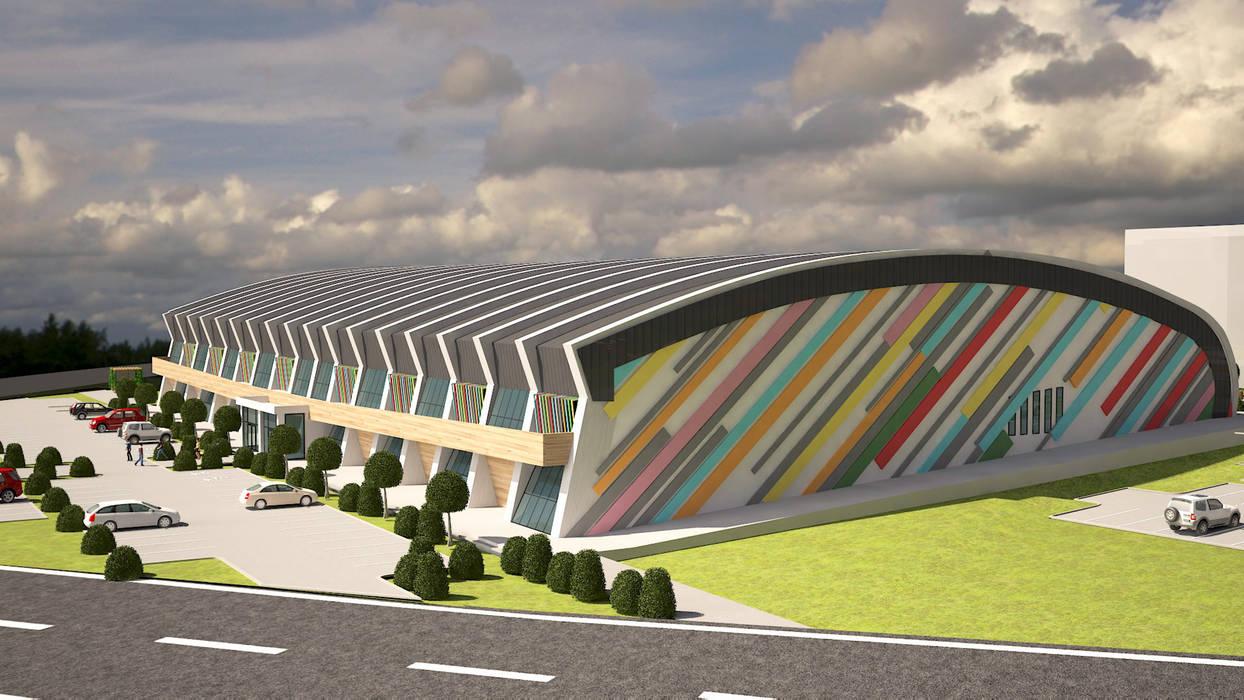 ARCONPROJE Modern stadiums
