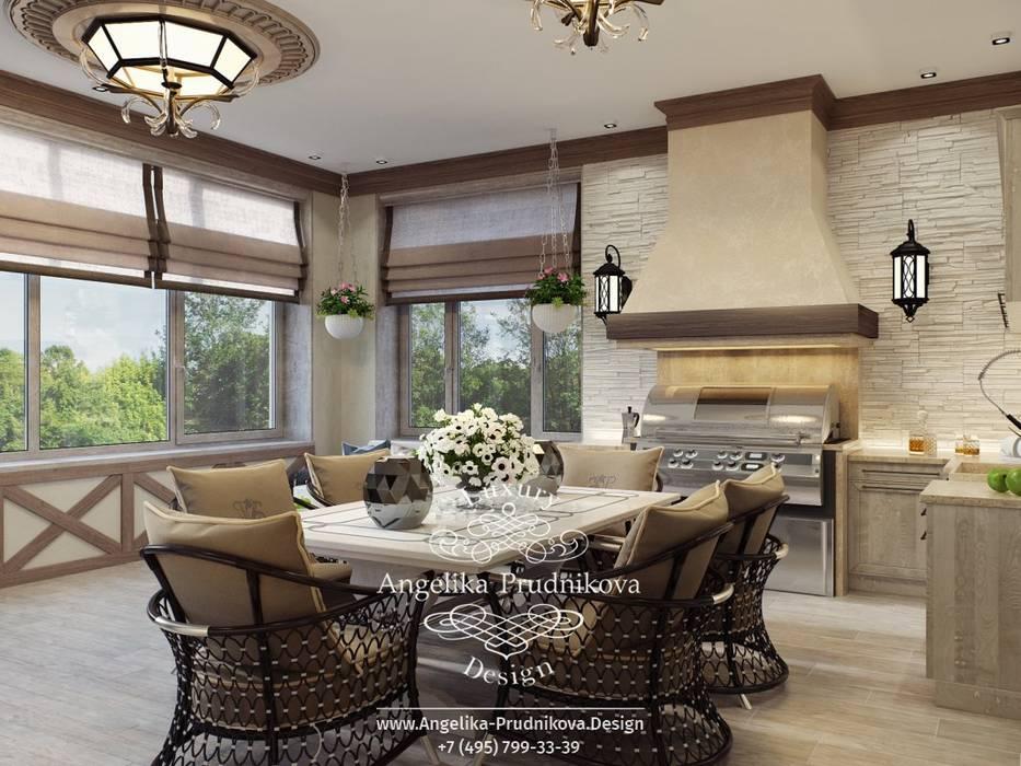Modern Terrace by Дизайн-студия элитных интерьеров Анжелики Прудниковой Modern