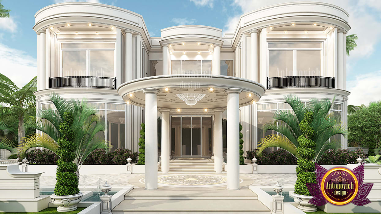 Have the most luxurious exterior design in dubai by luxury