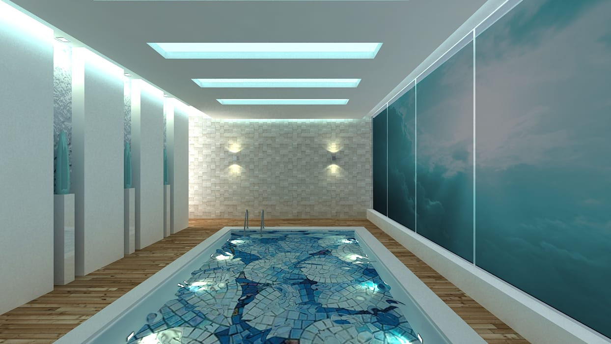 Swimming Pool Modern pool by De Panache - Interior Architects Modern
