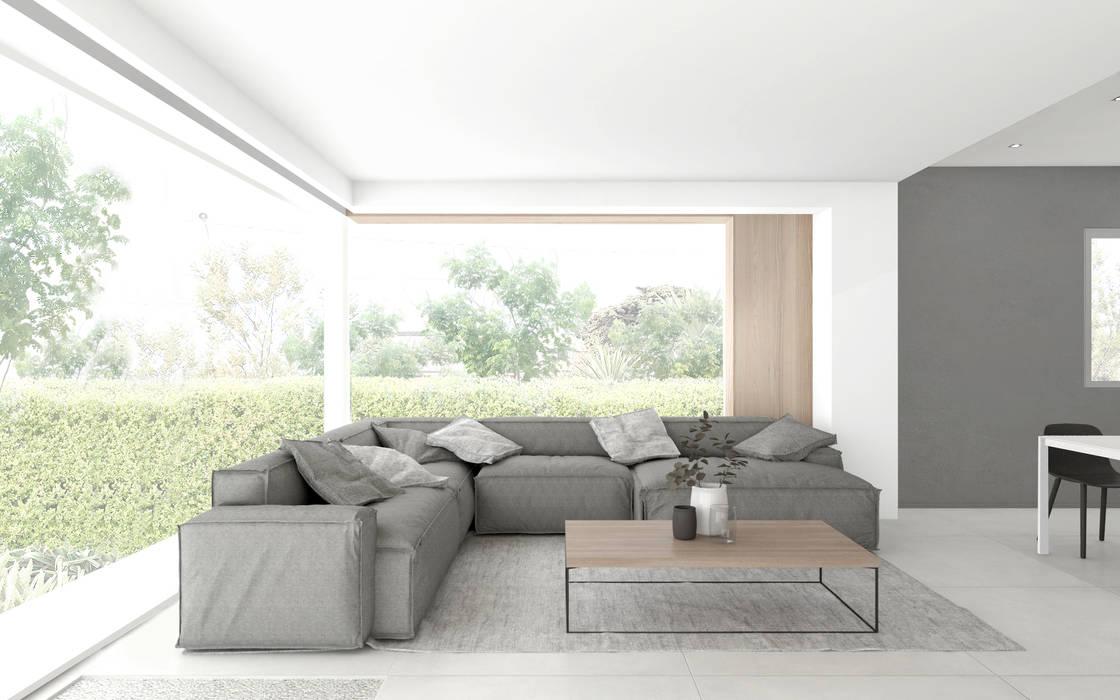 Il divano ad angolo soggiorno moderno di dfg architetti ...