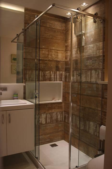Apartamento JTA Casas de banho modernas por Viviane Cunha Arquitetura Moderno