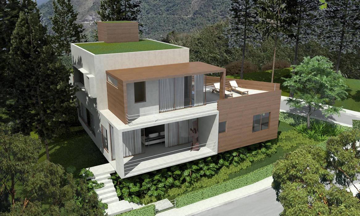 Casa AJM Casas modernas por Viviane Cunha Arquitectura Moderno