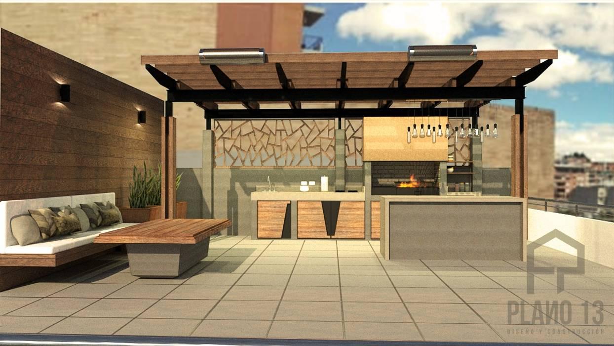 Terraza Conjunto Residencial Casas Del Este Bbq Balcones Y