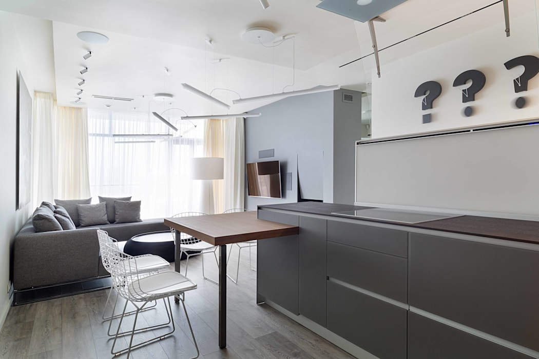 Livings de estilo minimalista de Архитектор Татьяна Стащук Minimalista