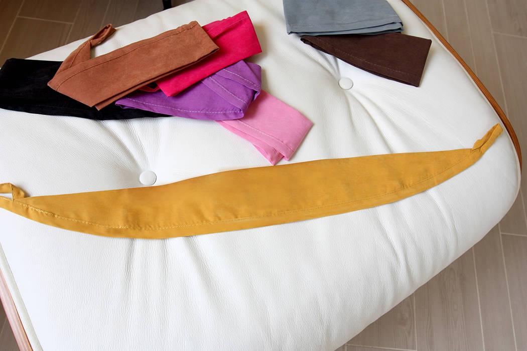 高彩度的自在居家,讓窗簾也能營造主色調|Donzu 拼色布簾.布簾 / 門簾 / 隔間簾 by MSBT 幔室布緹 Scandinavian MDF