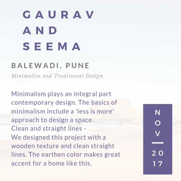About the Project Minimalist house by Nikhil Kanthe Minimalist