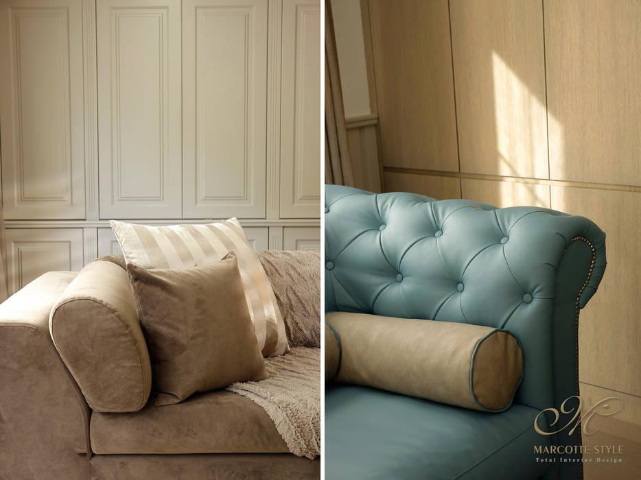 Kırsal Oturma Odası Marcotte Style Kırsal/Country
