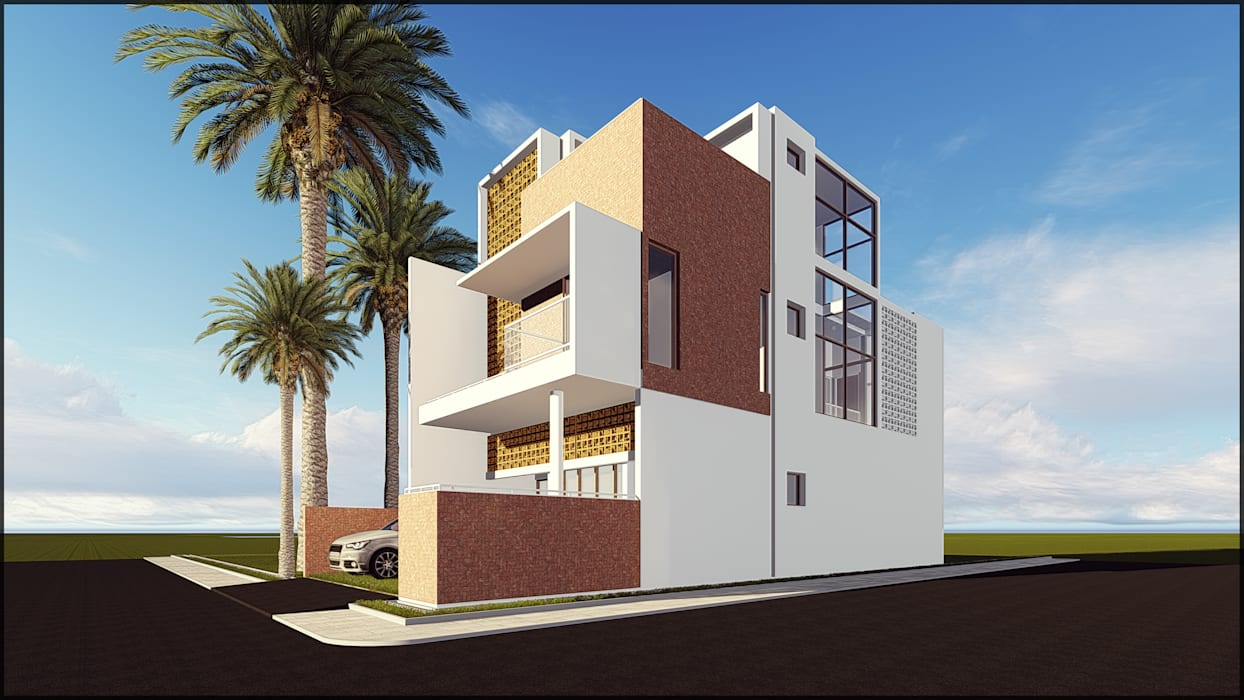 AG HOUSE Oleh SARAGA Studio Arsitektur