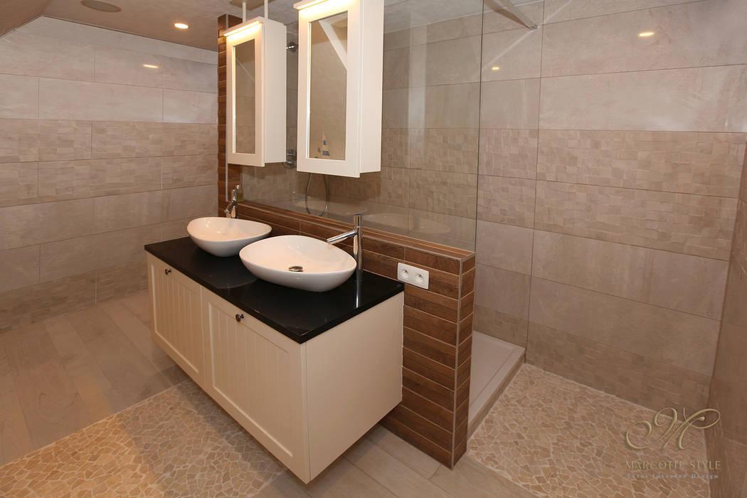 Badezimmer im Landhausstil von Marcotte Style Landhaus