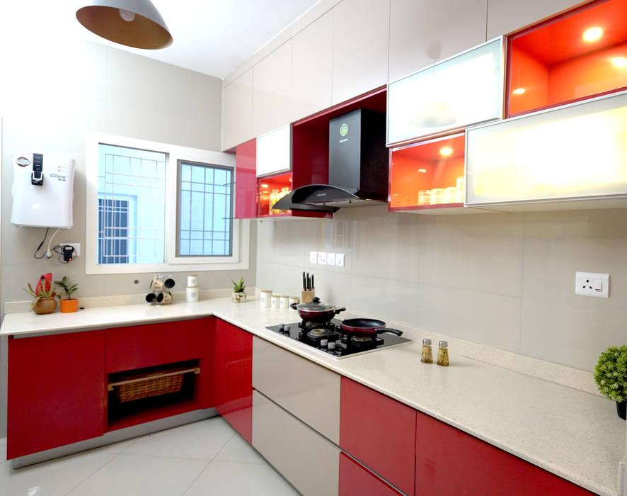 Modern Kitchen by HomeLane.com Modern