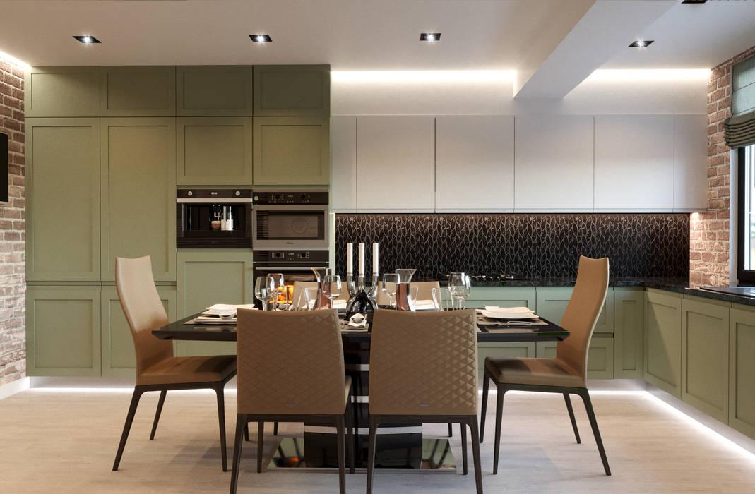 Modern Kitchen by CGM studio Modern